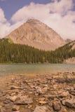 Vlagerige Piek en Chester Lake royalty-vrije stock fotografie