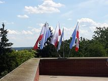 vlaggen Stock Afbeeldingen
