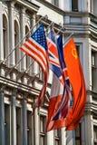 Vlaggen Royalty-vrije Stock Foto's
