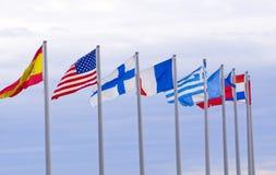 Vlaggen Stock Afbeelding