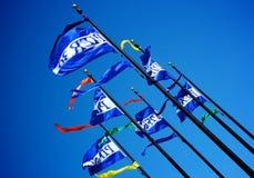 vlaggen Stock Foto
