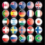 Vlaggen, deel 2 Royalty-vrije Stock Afbeeldingen