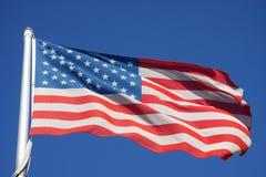 Vlaggen van Amerika Stock Afbeeldingen