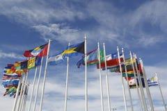 Vlaggen van de Wereld Stock Afbeeldingen