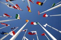 Vlaggen van Wereld 5 Stock Afbeelding