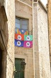 Vlaggen voor onafhankelijkheid royalty-vrije stock foto's