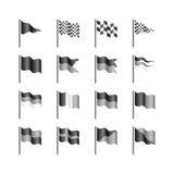Vlaggenmalplaatje Royalty-vrije Stock Afbeeldingen