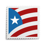 Vlagzegel Royalty-vrije Stock Fotografie