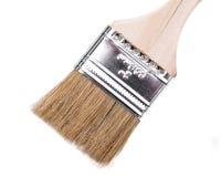 Vlak Chip Painting Brush dat op wit wordt ge?soleerd royalty-vrije stock foto's