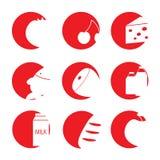 Vlak eenvoudig pictogram Royalty-vrije Stock Foto's