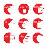 Vlak eenvoudig pictogram Stock Foto's