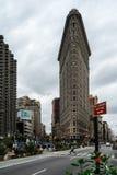 Vlak Ijzer in New York de Verenigde Staten van Amerika Royalty-vrije Stock Foto's