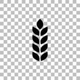 Vlak landbouwpictogram royalty-vrije illustratie
