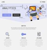 Vlak ontwerp ontvankelijke UI mobiele app met 3d modellen Stock Afbeeldingen