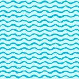 Vlak ruw golvenpatroon Stock Afbeelding