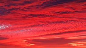 Vlak vóór zonsopgang in de dag van Heilige Lucia royalty-vrije stock fotografie