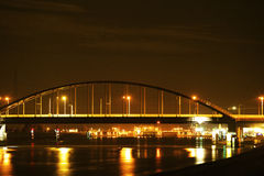 Vlake bridge. Royalty Free Stock Photos