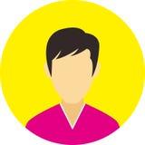Vlakke de lijnpictogrammen van het mensenpictogram geplaatst concept Royalty-vrije Stock Afbeelding