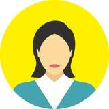 Vlakke de lijnpictogrammen van het mensenpictogram geplaatst concept Stock Foto