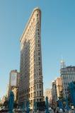 Vlakke Ijzer de bouwvoorgevel, New York, de V.S. Stock Foto