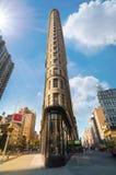 Vlakke Ijzer de bouwvoorgevel, New York, de V.S. Stock Foto's