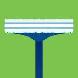 Vlakke illustratieborstels voor wasvensters Royalty-vrije Stock Foto's