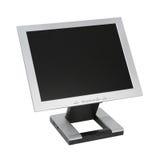 Vlakke LCD Monitor Royalty-vrije Stock Foto's