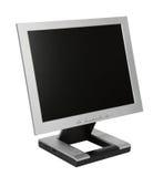 Vlakke LCD Monitor Stock Foto