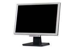 Vlakke monitor Royalty-vrije Stock Afbeeldingen