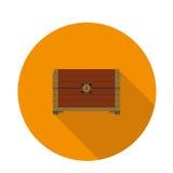 Vlakke pictogramborst Royalty-vrije Stock Fotografie