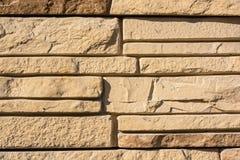 Vlakke rotsen gelaagd om een stevige muur te vormen stock afbeelding