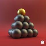 Vlakke stijl Vector illustratie Royalty-vrije Stock Foto's