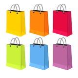 Vlakke vectorillustratie van verkooppakketten Royalty-vrije Stock Fotografie