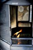 Vlam van de lamp Stock Afbeeldingen
