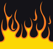 Vlammen Royalty-vrije Stock Afbeeldingen