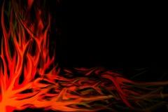 Vlammen royalty-vrije illustratie