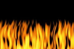 Vlammen stock illustratie