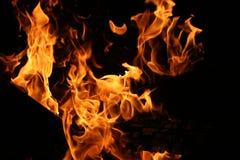 Vlammen Royalty-vrije Stock Afbeelding