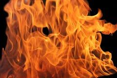 Vlammen Royalty-vrije Stock Foto's