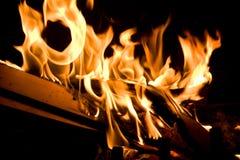 Vlammen van Brand Royalty-vrije Stock Afbeeldingen