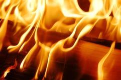 Vlammen VII van de brand Royalty-vrije Stock Foto