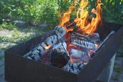 vlammenbrand Royalty-vrije Stock Afbeeldingen