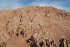 Vlammende berg Stock Foto's