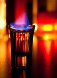 Vlammende cocktail Royalty-vrije Stock Afbeelding
