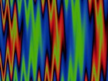Vlammende fractal Stock Afbeelding