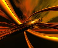 Vlammende stekels stock illustratie