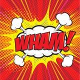 VLAN ! mot comique Photo libre de droits