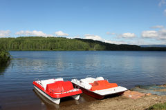 Vlasina lake Stock Photography