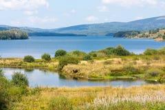 Vlasina lake in Serbia Royalty Free Stock Photography