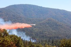 VLAT dropping retardant Royalty Free Stock Image